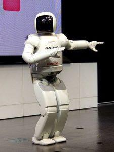 ASIMO 2nd-gen model dancing